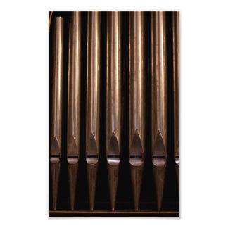Organ pipes photo art