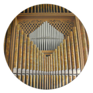 Organ pipes plate - Seattle