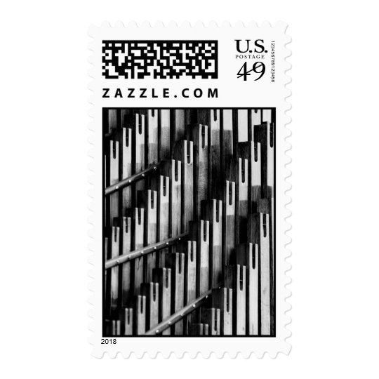 Organ Pipes Postage Stamp