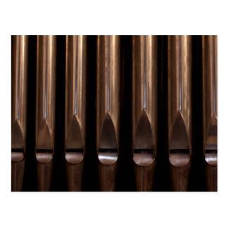 Organ pipes postcard