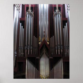 Organ Pipes Print