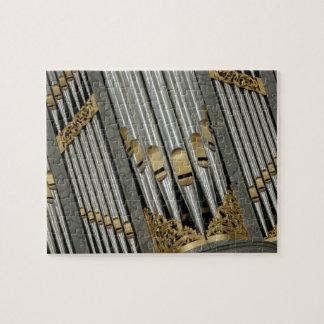 Organ pipes puzzles