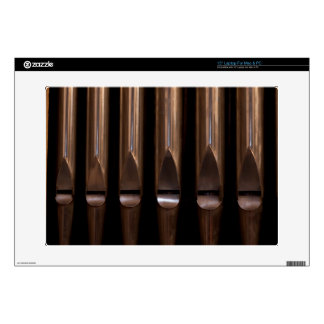 """Organ pipes 15"""" laptop decals"""