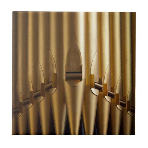 Organ pipes tile or trivet