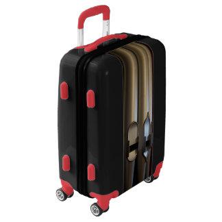 Organ pipes travel luggage