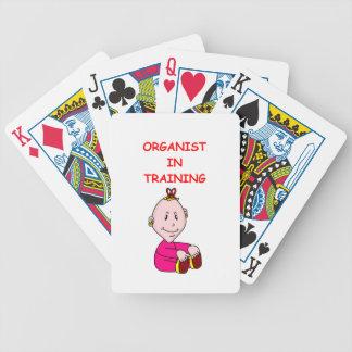 ORGAN BICYCLE PLAYING CARDS