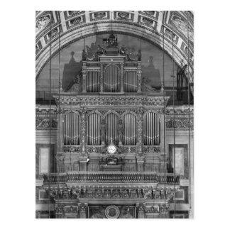 Organ Postcard