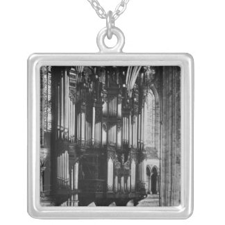 Organ Silver Plated Necklace