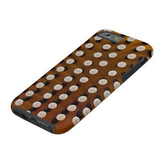 Organ stops in wood tough iPhone 6 case
