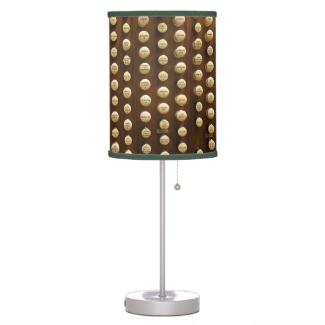 Organ stops table lamp