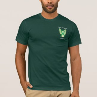 Organ Transplant Awareness Ribbon Angel Shirts