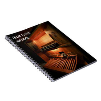 Organ tuning notebook