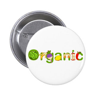 Organic 2 Inch Round Button