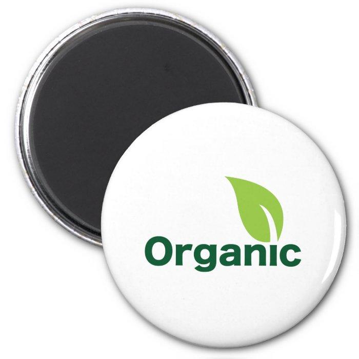 Organic 2 Inch Round Magnet