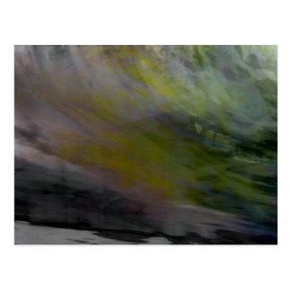 Organic Abstract #1455 Postcard