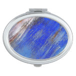 Organic Abstract Compact Mirror