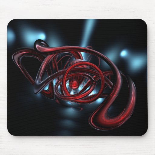 Organic abstract mouse pads
