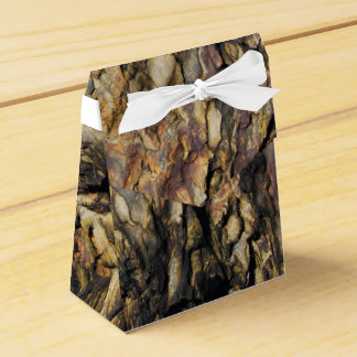 Organic Abstract Rock Favor Box