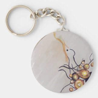 Organic Abstraction Keychain