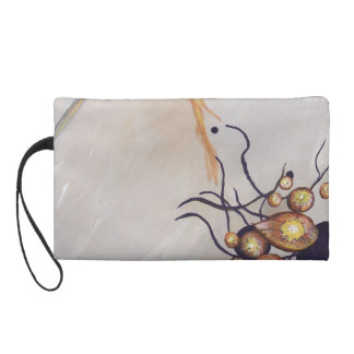 Organic Abstraction Wristlet Purse