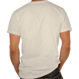 Organic Adult T - Back Only Imprint Tshirts
