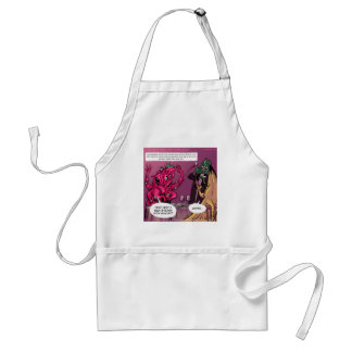 Organic And GMO Date Funny Adult Apron