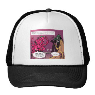 Organic And GMO Date Funny Trucker Hat