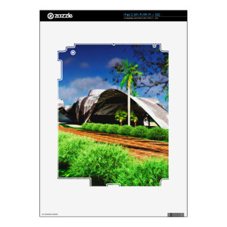 Organic Architecture Landscape Decal For The iPad 2
