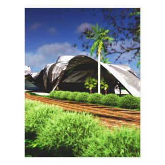 Organic Architecture Landscape Letterhead