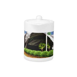 Organic Architecture Landscape Teapot
