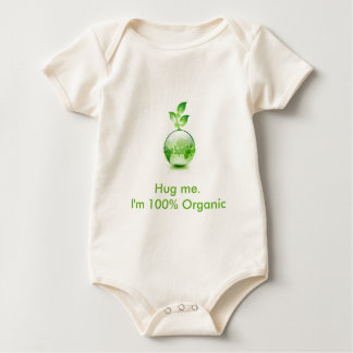 "Organic Baby ""Green Super Guide"" O... - Customized Baby Bodysuit"
