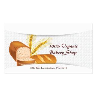 Organic Bakery Shop Business Card