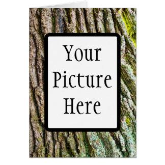 Organic Bark Texture 8 Greeting Card