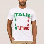 ORGANIC basic tee-shirt white ITALIA ATLETISMO T-Shirt