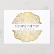 Organic Beauty Gold Tree Rings Salon Gift Card