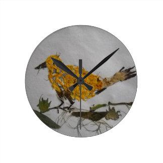 Organic Bird-Wall Clock