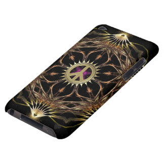 Organic Bohemian Peace Flower iPod Touch Case