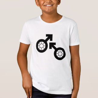 Organic boy's bike tee by DAL