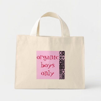 organic boys only,cute bag