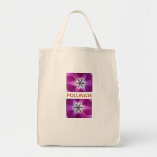 ORGANIC CANVAS POLLINATE SHOPPING BAG