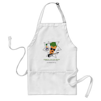 Organic Carrots Rock Adult Apron