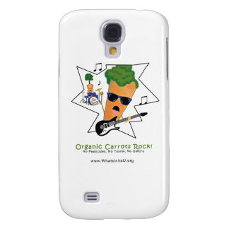 Organic Carrots Rock Galaxy S4 Covers