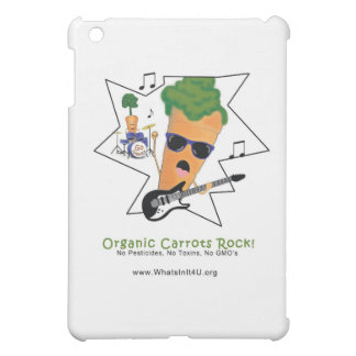 Organic Carrots Rock iPad Mini Case