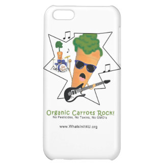 Organic Carrots Rock Cover For iPhone 5C