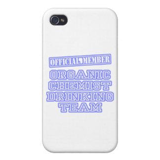 Organic Chemist Drinking Team Case For iPhone 4