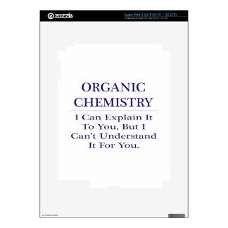 Organic Chemist Joke .. Explain Not Understand Decals For iPad 3