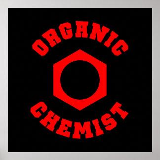 Organic Chemist Poster