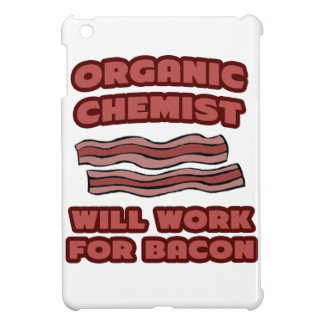 Organic Chemist .. Will Work For Bacon iPad Mini Covers