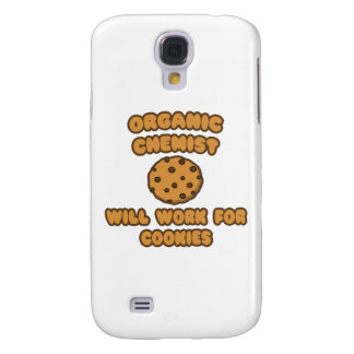 Organic Chemist .. Will Work for Cookies Galaxy S4 Case