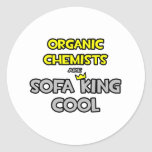 Organic Chemists Are Sofa King Cool Stickers